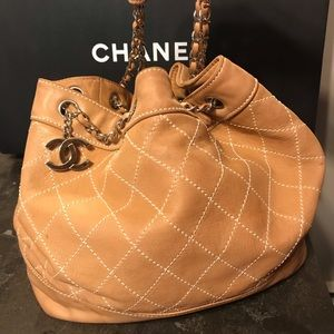 Handbags - GORGEOUS Authentic Chanel Hobo Quilted Chain Bag